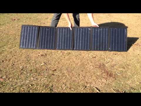 Get Good Gear 120w Projecta Solar Panel Product Review Youtube