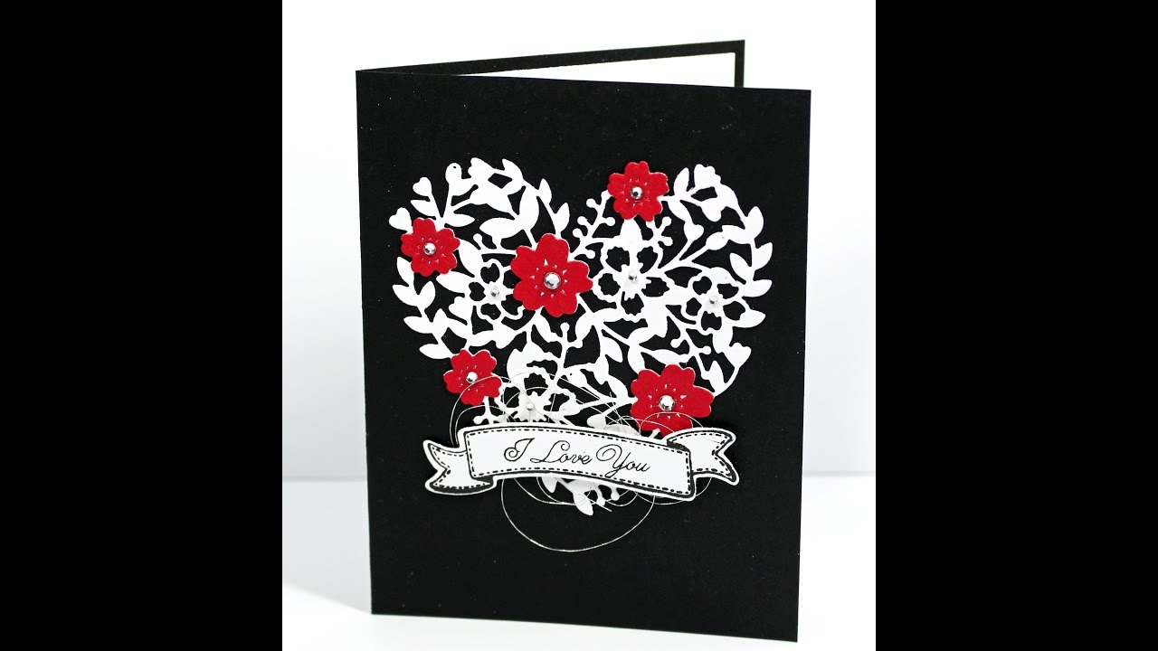 Stampin Up Bloomin Heart Valentine Card Making Tutorial