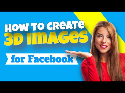 The Graphics Creator:MAKE 3D IMAGES for FACEBOOK