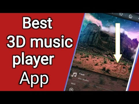 जबरदस्त 3D Music player for Android to listioning mp3 3D song   technical boss