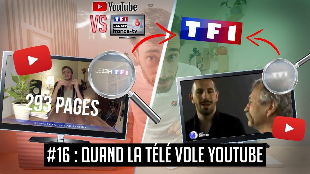 YouTube VS la télé #16 : Quand la télé vole YouTube (et inversement…)