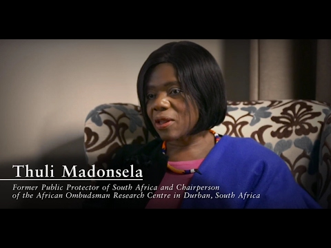 Social justice, democracy and good governance in South Africa - Interview with Thuli Madonsela