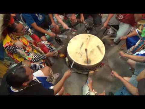 Siksika Pow Wow Drums - Blackfoot Confederacy