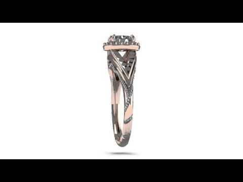 Custom Ring by Mitchum Jewelers -- Demo Video