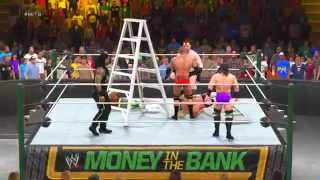 WWE Money In The Bank 2015 - Money In The Bank Ladder Match - WWE 2K15 Gameplay