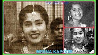 MEENA KAPOOR-Film-NAYI REET-1948-Do Baat Na Ki Aur Chale Gaye-[ Rare Gem ]