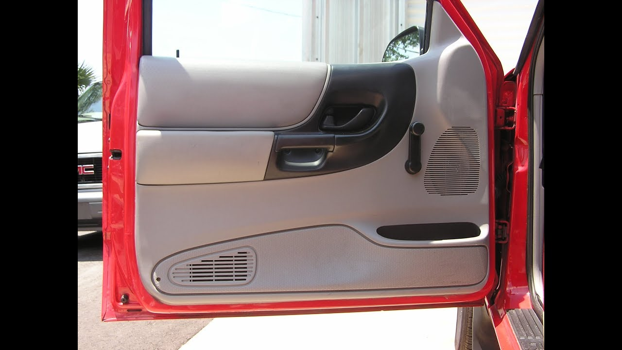 Ford Ranger Speaker Removal Front Door Youtube