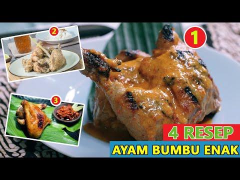 4-resep-ayam-bumbu-enak,-lezat-dan-mudah-dibuat---resep-masakan-sehari--hari