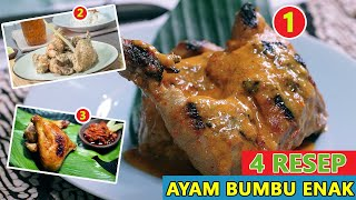 4 Resep Ayam Bumbu Enak, Lezat dan Mudah Dibuat - Resep Masakan Sehari- hari Ayam Bumbu Rujak adalah salah satu olahan ayam dengan citarasa ...