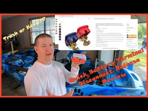 Car and Marine battery terminal quick connect / disconnect review