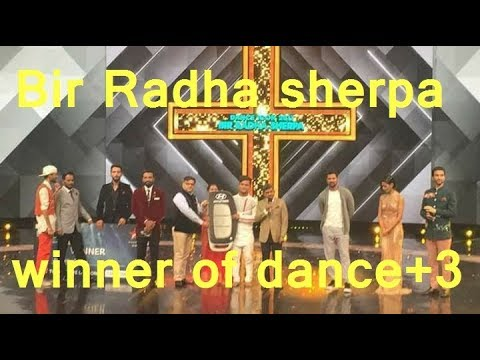 Bir Radha Sherpa won Dance + 3, look Runner Up, Prize|| बीर ने जीता डांस प्लस 3| By Nav Tech Online