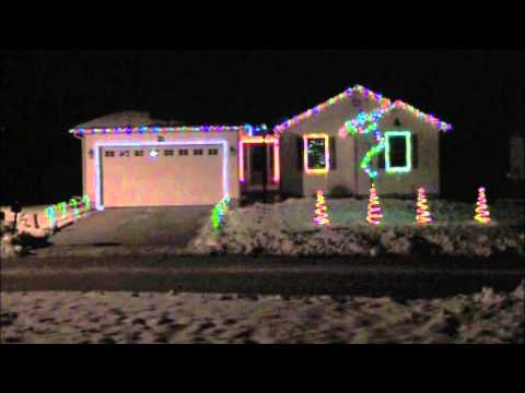 For Whom the Christmas Bell Tolls...Metallica Christmas lights display