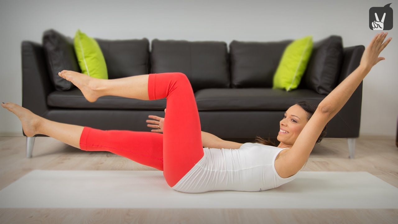 pilates bauchweg quickie die besten bungen f r den straffen bauch youtube. Black Bedroom Furniture Sets. Home Design Ideas