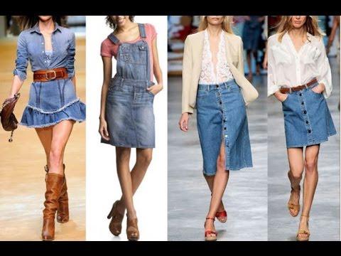 dbb9a882d8ed Kurze Jeans Röcke, jeansrock knielang, damen jeansrock