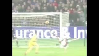 Andy Carrol's Insane Overhead kick