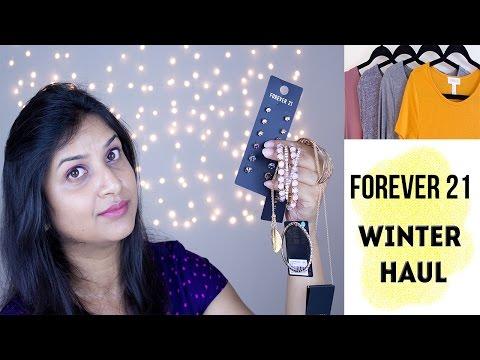 Forever 21 Winter/Fall Fashion HAUL || DenDiva
