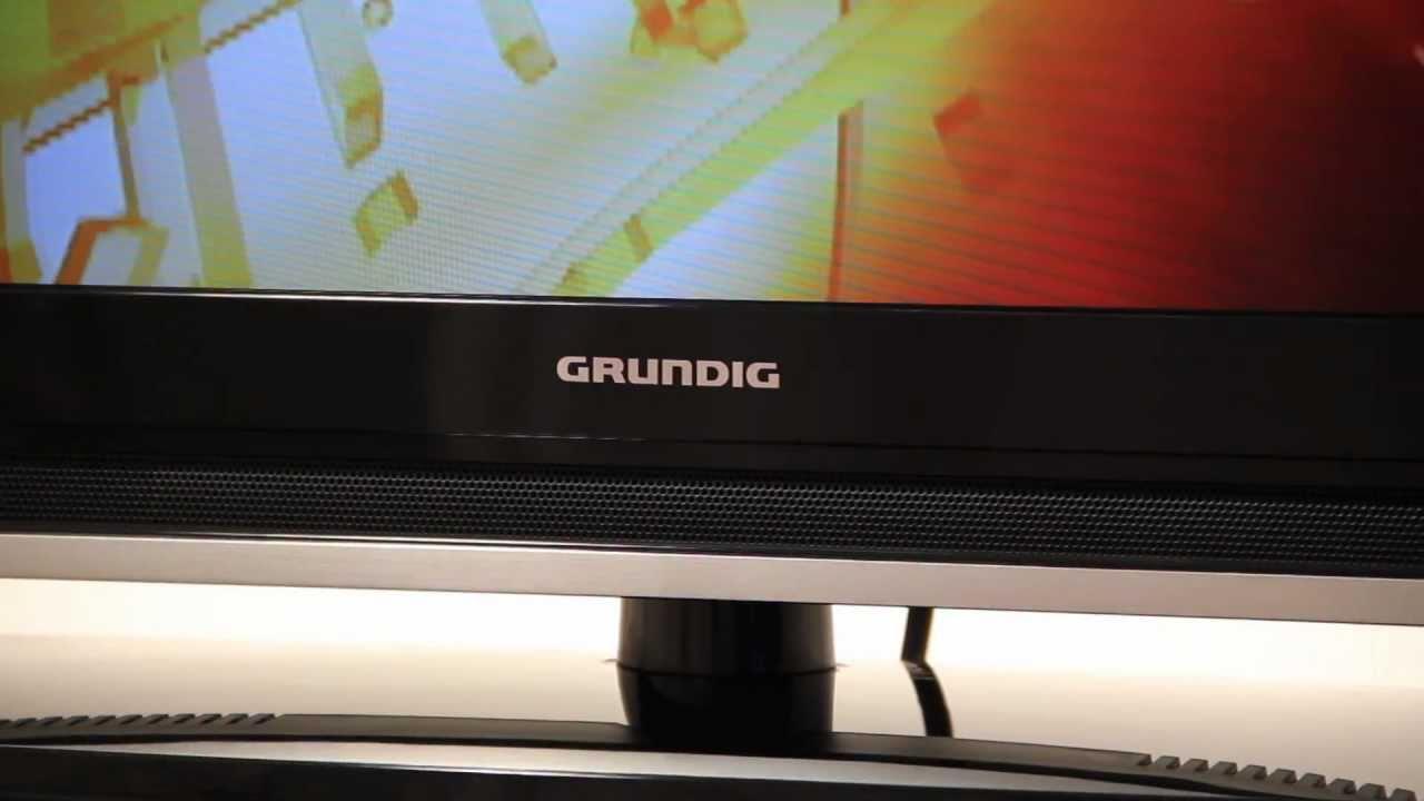 Grundig LED TV VISION 32VLE7020C - YouTube