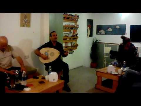 BASEL ZAID - ASFOURA AL SHAJAN live @ Aristotle Cafe, Alwebdeh, Amman, Jordan, 05-08-2017