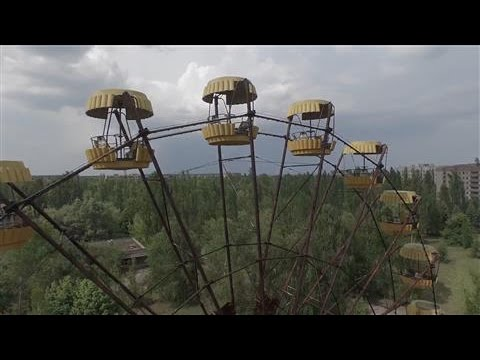 Chernobyl: Drone Footage Reveals an Abandoned City