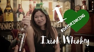 #DAYDRINKING Irish Whiskey Ep1 with Jenn Wong & Josh Peters for St Patrick's Day