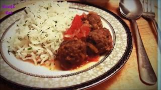 Обалденные Фрикадельки с подливкой/ Yummy meatballs with gravy