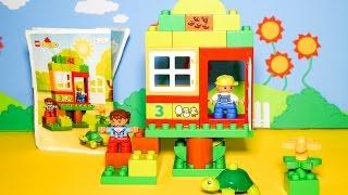 Lắp ráp mô hình ngôi nhà dễ thương bằng đồ chơi xếp hình lego