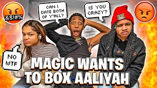 MAGIC & AALIYAH FINALLY HAD A SIT DOWN FACE TO FACE!💔  (THE TRUTH EXPOSED)🍵