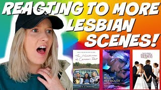REACTING TO LESBIAN SCENES (Below her mouth, The Miseducation of Cameron Post) & more!