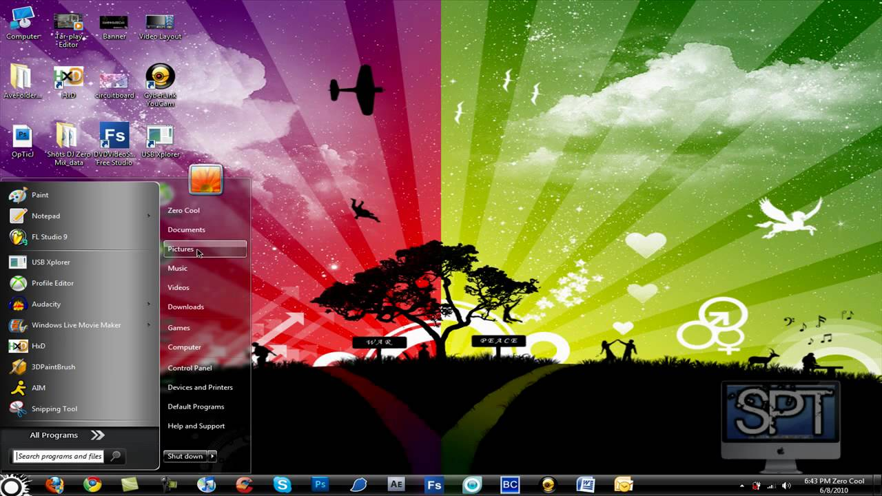 Windows background picture folder - How To Install Folder Backgrounds For Windows 7 And Vista Original Tutorial Youtube