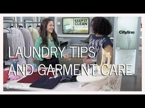 Laundry Care Tips And Reading Garment Care Labels (Cityline)