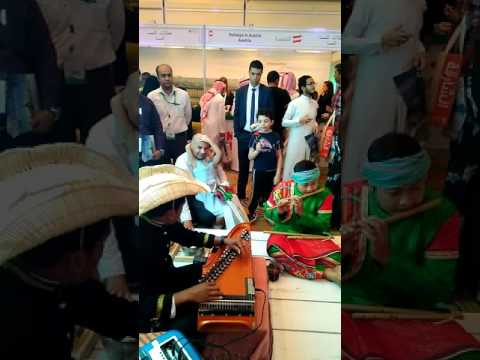 Indonesia cultural performance at Riyadh Travel Fair 2017