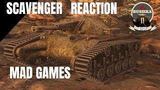 THE SCAVENGER - MAD GAMES - WORLD OF TANKS BLITZ