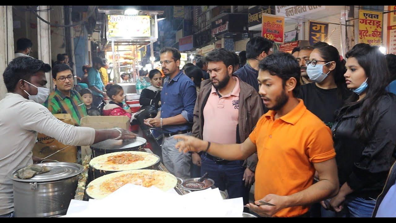 Indore Sarafa Bazar Special Paneer Dosa & Pizza Dosa | Dosa Starts @ 20 Rs