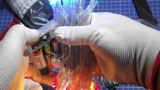 Распаковка посылки из Китая - Светодиодная гирлянда на батарейках
