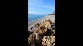 La spiaggia del Villaggio Camping Calypso