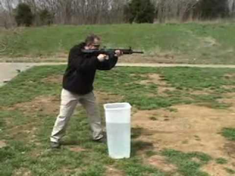 HK 416 Rifle Test
