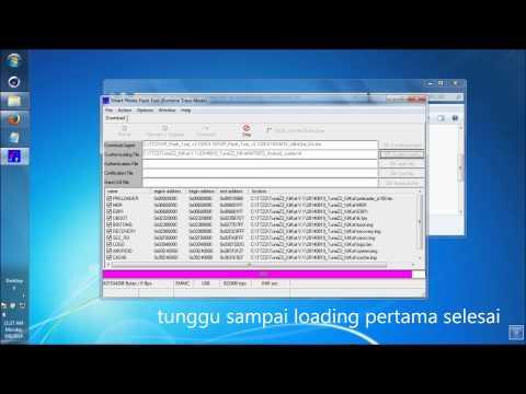 Tutorial Update Firmware di Treq Tune Z2 ke KitKat dengan SP Tools