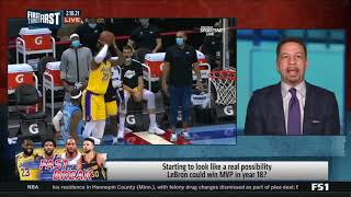 First Things First | Chris Broussard on NBA MVP, Steph Curry, and Kyle Lowry Trade Rumors | 2-10-21