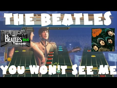 The Beatles - You Won't See Me - The Beatles Rock Band DLC Expert Full Band (December 15th, 2009)