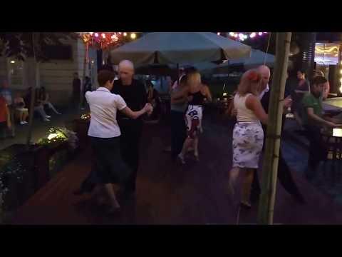 Retro Dancing in Lviv, Ukraine - Tourist Destination