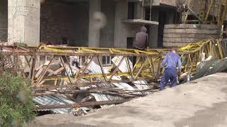 Садамаи крани борбардор дар шаҳри Душанбе