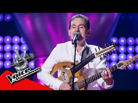 Nabil zingt 'Nour El Ain'   Blind Audition   The Voice van Vlaanderen   VTM
