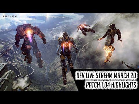 [Anthem] Developer Livestream Patch 1.04 Highlights (20MAR)