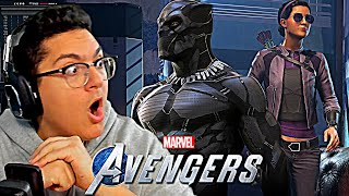 Marvel's Avengers Game - Black Panther Confirmed and Hawkeye Story DLC Reveal REACTION!