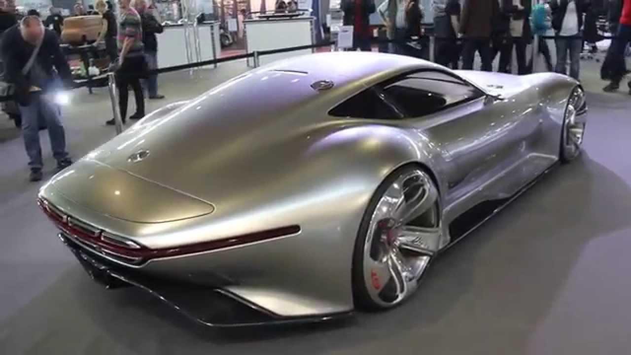 Mercedes Vision Gran Turismo Hypercar Concept Walkaround Porsche