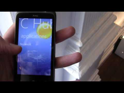 HTC 7 Mozart Hands-on