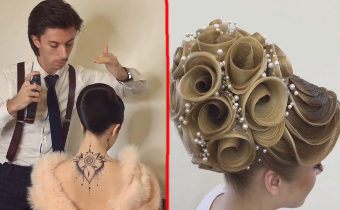 Hair Style Videos Youtube: Georgiy Kot: 7 Beautiful Hairstyles Design Hairstyles