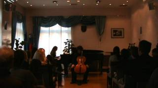A. Dvořák: Cello Concerto no. 2 op. 104 in h minor, 2nd movement   Sebastian Bertoncelj, cello