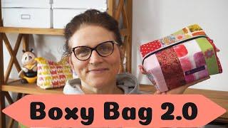 Boxybag 2.0 nähen / kostenloses Schnittmuster