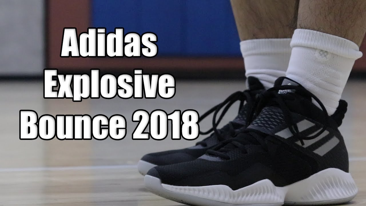 3dee1489667 Adidas Explosive Bounce 2018 Performance Review! - YouTube